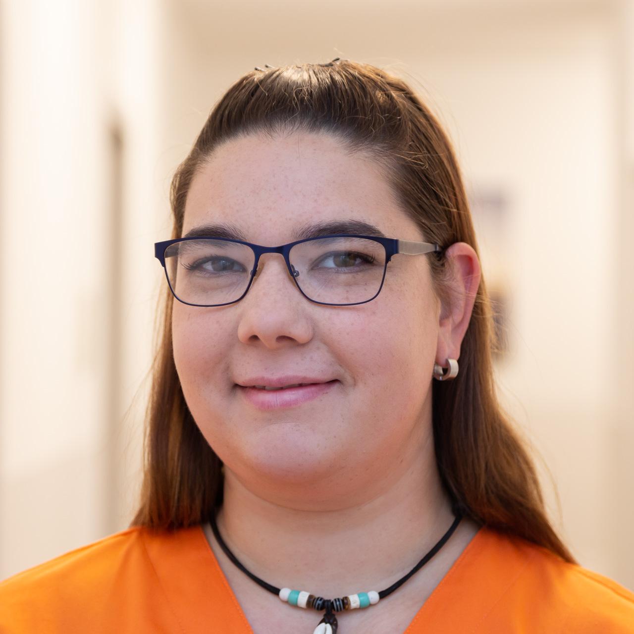 Schwester Nadine: MFA, NäPa (Nichtärztliche Praxisassistentin)